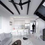Propeller Black Ceiling Fan -