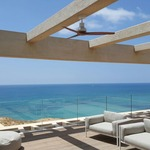 Propeller Grey Ceiling Fan -