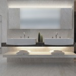 Stiletto Lungo 95 inch Bath Bar by Sonneman A Way Of Light
