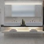 Stiletto Lungo 95 inch Bath Bar by Sonneman A Way Of Light