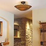 Neptune Semi-Flush Ceiling Mount by Stone Lighting