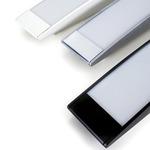 Strip Wall or Ceiling Light - Aluminum / White