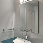 Vanguard Bath Bar by DVI Lighting