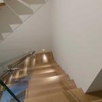 Sun3 Square LED 36Deg Recessed Uplight/Steplight - Satin Aluminum /