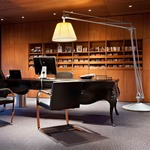 Superarchimoon Floor Lamp by Flos Lighting