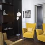 Superluna Floor Lamp by Oluce Srl