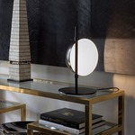 Superluna Table Lamp by Oluce Srl