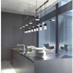 Suspenders 3 Bar Offset Linear Pendant by SONNEMAN - A Way of Light