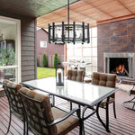 Racine Outdoor Chandelier -