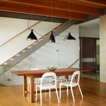 Swell 3 String Mixed Indoor Outdoor Pendant by Pablo
