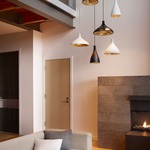 Swell Wide Indoor Outdoor Pendant by Pablo