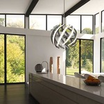 Swirl Pendant by Blackjack Lighting