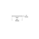 Power Jack 1-Port Line Voltage Round Canopy -  /