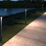 Strut Bollard by Tech Lighting