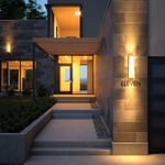 Konial Wall Light with Acrylic Shade by Tech Lighting