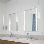 Siber Recessed Mirror - Satin Nickel /