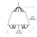 Freejack LED Mini Artic Pendant -  /