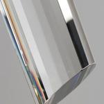 Freejack LED Tibor Pendant - Satin Nickel / Clear