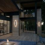 Aspen 120V Outdoor Wall Light -