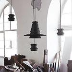 Tool Small Pendant - Matte Black /