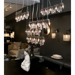 Tribeca Bar Chandelier by Michael McHale Designs