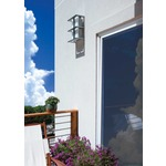 Modular Tubular Small Outdoor Wall Sconce by