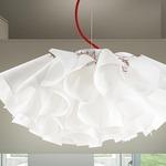 TuTu Pendant - White / White