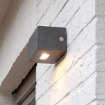 Twin Outdoor Up / Down Wall Sconce by Lightology Collection