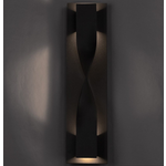Twist Outdoor Wall Light - Bronze /