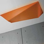 Ukiyo Rectangle Wall or Ceiling Mount by Axo Light