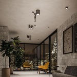 Urban Flush Mount Ceiling Light -