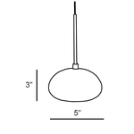 Fj Urchin Pendant -  /