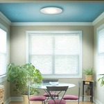 Vanilla Sky 14 Round Halogen Ceiling Flush Mount by Edge Lighting