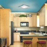 Vanilla Sky Square Xenon Ceiling Light -  /