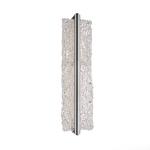 Vetri Bathroom Vanity Light - Brushed Aluminum / Piastra