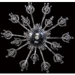 Villa Chandelier - Chrome / Clear Crystal