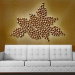 Vineyard Mural Wall Sconce by Lightology Collection