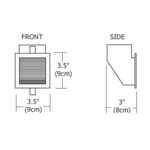 Vision 3 Wall Recessed -  /