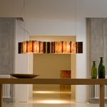 Vento 38 inch LED Linear Pendant by Arturo Alvarez