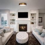 Vaughan Ceiling Flush Light -