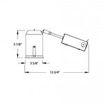 Tesla 2 LED Remodel Non-IC Airtight Housing -  /