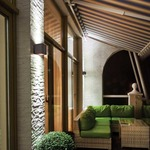 Rubix 2505 Up/Down Outdoor Wall Sconce by W.A.C  Lighting