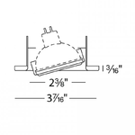 Low Voltage 2.5IN Adjustable Trim -  /