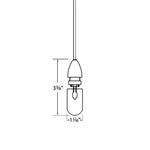 QP 501 Pendant Socket -  /