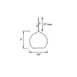 QP Roxy Cosmopolitan LED Pendant -  /