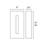 Tao Outdoor Wall Sconce -  /
