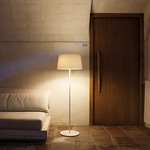 Warm Fabric Shade Floor Lamp -  /
