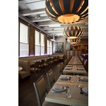 Emilia 160 Suspension in Grey Oak by WEP Light | Kabocha | Japanese Brasserie
