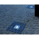 Wetsy Square PowerLED Recessed Ground Fixture by SLV Lighting