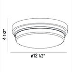 Wilson LED Flush Mount -  /